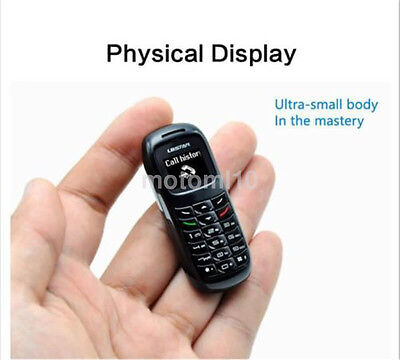 Tiny Small Mini Micro Mobile Cell Phone Unlock GSM Sim Bluetooth Headset UK