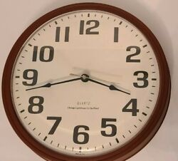 New Chicago Lighthouse For The Blind Wall Clock