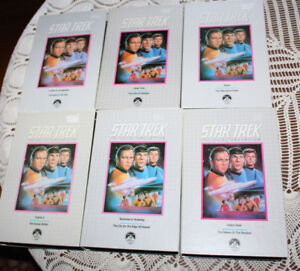 21 Star Trek VHS Collector's Edition video tapes orig TV series