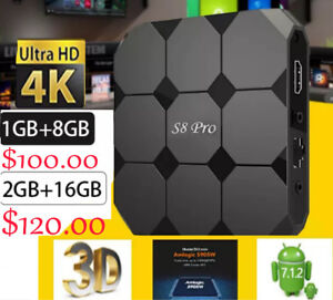 The S8 Plus Android 7 TV Box-a VERY Reliable and Stable Quadcore