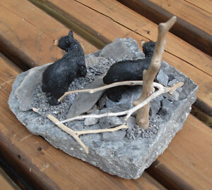 Hand Crafted Bears 3-D Table Sculpture Kingston Kingston Area image 6