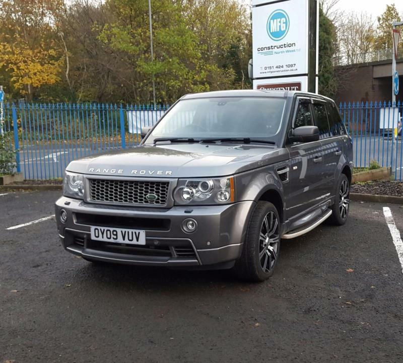 land rover range rover sport 2 7 td diesel v6 auto 2009 stormer se in grey in widnes cheshire. Black Bedroom Furniture Sets. Home Design Ideas