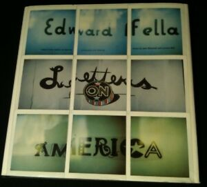 EDWARD FELLA: Letters on America, graphic designer