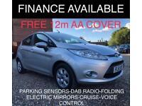 2012 Ford Fiesta 1.6 TDCi ECOnetic DPF Titanium Hatchback 5dr Diesel Manual
