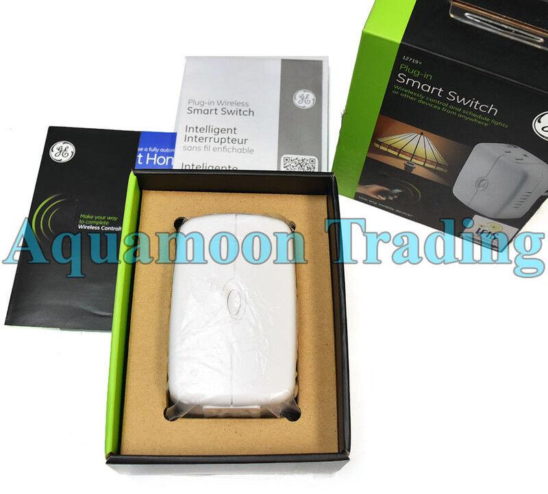 GE Z-Wave Plug-In Smart Wireless Switch White 12719