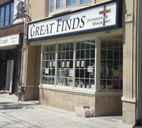 Great Finds Outreach Store with affordable gems for all