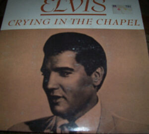 Collection of 5 Elvis 45's with Picture Covers London Ontario image 3