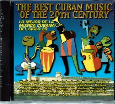 The Best Cuban Music of The 20th Century  Varios    BRAND  NEW SEALED