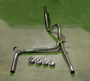 Catback Stainless Exhaust + Bandclamps LS1 SS Z28 CATBACK BULLET Camaro Trans Am
