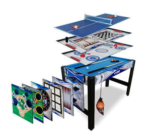Triumph Sports USA - Combo Game Table - 13-in-1