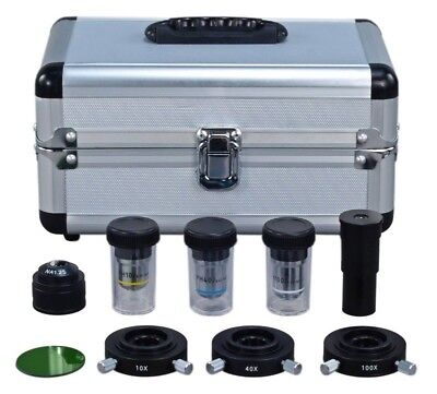 Phase Contrast Set For Compound Microscope W Three Condensersthree Objectives