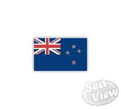 Mini New Zealand Flag Car Van Bedroom Window Sticker Flag Car Van Decal