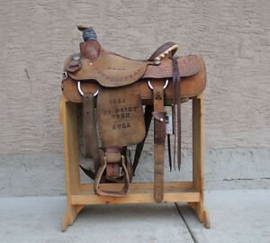 Roping Saddle