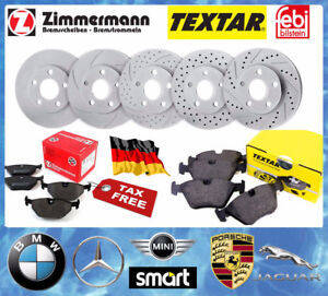 MERCEDES -BMW- SMART- MINI- PORSCHE-- Brake Sets