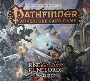 Pathfinder + expansion 1 & 2 + wooden inserts  - Board game