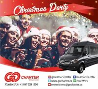 Christmas Party Shuttle Service
