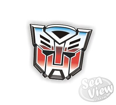 Autobot Transformers Robot Transformer Car Van Stickers Decal Bumper Sticker