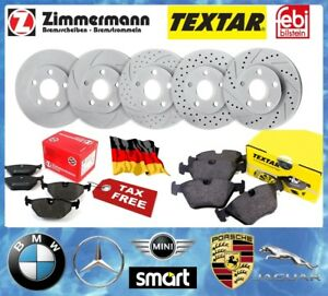 BRAKE SET- BMW- MERCEDES BENZ -MINI - JAGUAR – PORSCHE