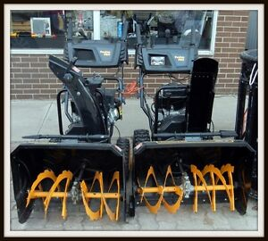 Selection of Snowblowers **NOW 20% OFF**