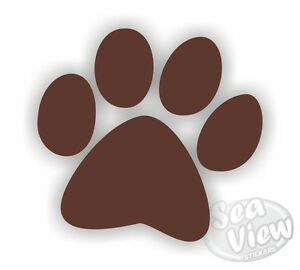 18-Large-Dog-Paw-Print-Car-Wall-Bedroom-Nursery-Stickers