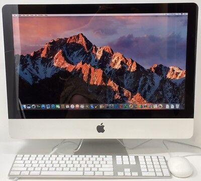 """Apple iMac 21.5"""" QUAD CORE i5 2.5GHz 4GB RAM 500GB HD GRADE A! Mac OS Sierra!"""