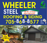 Stop Renting a Roof - Go Steel - 40 year Limited Paint Warranty