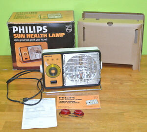 Vintage Philips Sun Lamp