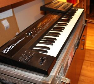 ROLAND D-50 Keyboard+PG-1000 Programmer+road case