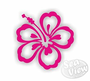12-Hibiscus-Flower-Car-Van-Bedroom-Window-Wall-Stickers
