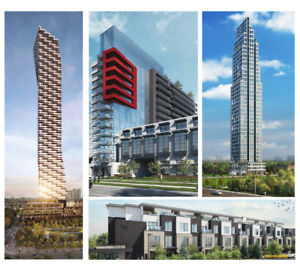 ✦✦ Amazing Mississauga Pre-Construction Condos On Sale Now