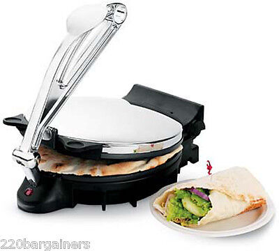 Revel Large 10  Tortilla Maker   Makes Tortilla Roti Flatbread 120V