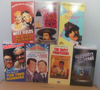 7 different VHS comedy video