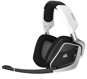 Corsair Void PRO RGB Wireless Gaming Head - White