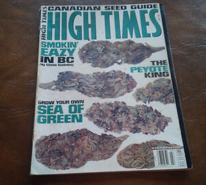 High Times, Canadian Seed Guide, July 1997, Magazine
