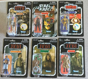 Lot figurines Star Wars vintage collection