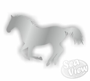 2-Horse-Box-Car-Van-Bedroom-Window-Wall-Stickers-Decals