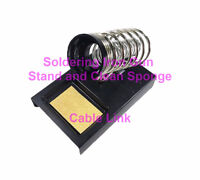 Soldering Iron Gun Stand Holder Metal Base and Clean Sponge