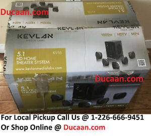 NEW Kevlan 5.1 HD HOME THEATER SYSTEM Model # KV-16- BRAND NEW