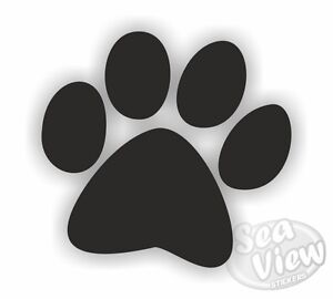 30-Dog-Paw-Print-Car-Van-Bedroom-Window-Wall-Stickers