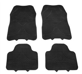 car mats set of four brand new rubber