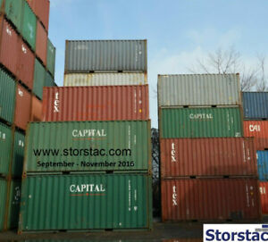 10', 20', 40' Steel Storage / Shipping Containers