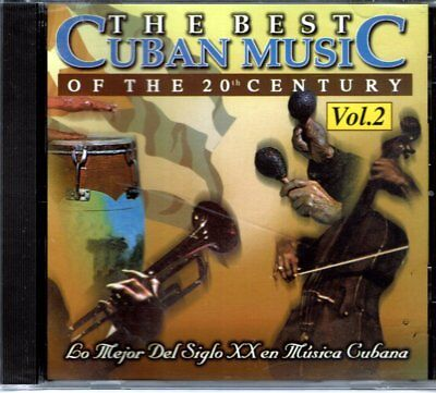 The Best Cuban Music of The 20th Century Vol 2   BRAND  NEW SEALED