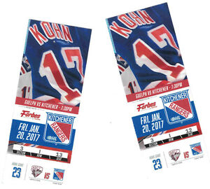 RANGERS discounted tix for Friday vs Guelph