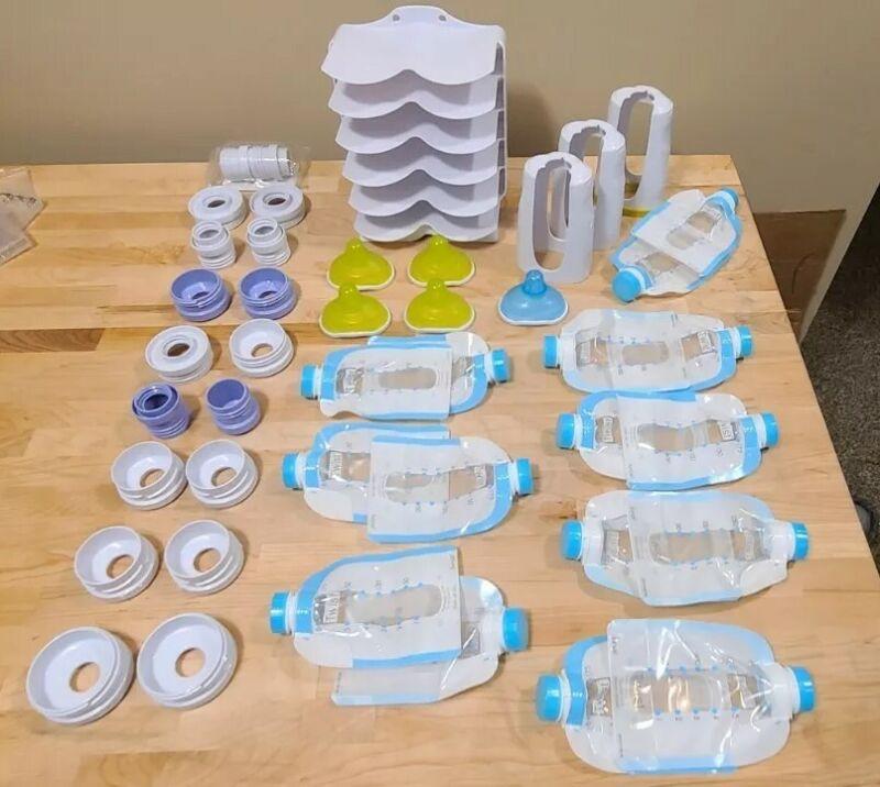 Kiinde Twist Breastfeeding Supplies , Pouches , Nipples, Storage Keeper Bottles