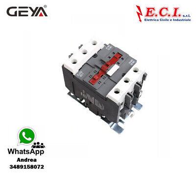 GEYA CJX2-8011-220V 80AH 3 Polos 1 No Contactor Powercord Bobina 220V