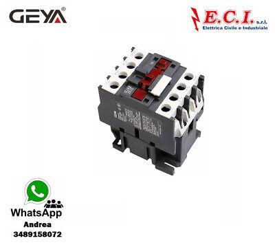 GEYA CJX2-2510-220V 25AH 3 Polos 1 No Contactor Powercord Bobina 220V