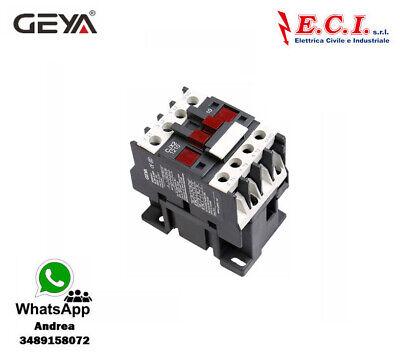 GEYA CJX2-1210-220V 12AH 3 Polos 1 No Contactor Powercord Bobina 220V