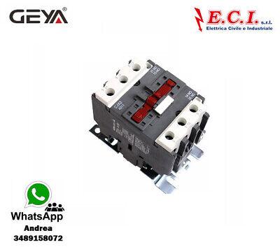 GEYA CJX2-4011-220V 40AH 3 Polos 1 No Contactor Powercord Bobina 220V