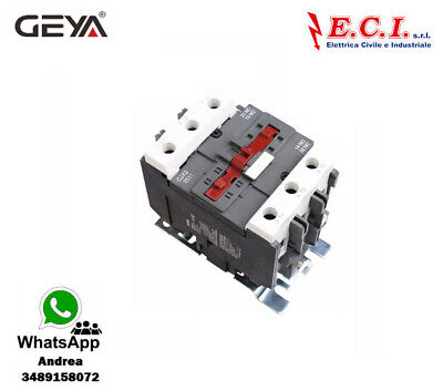 GEYA CJX2-9511-220V 95AH 3 Polos 1 No Contactor Powercord Bobina 220V