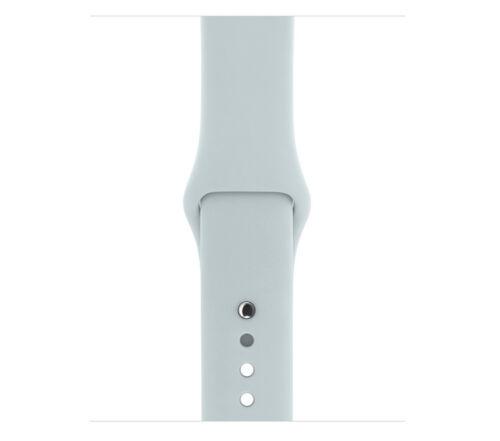 Genuine Apple Watch Sport Band - 38mm, Mist Blue, Stainless Steel Pin - (VG)